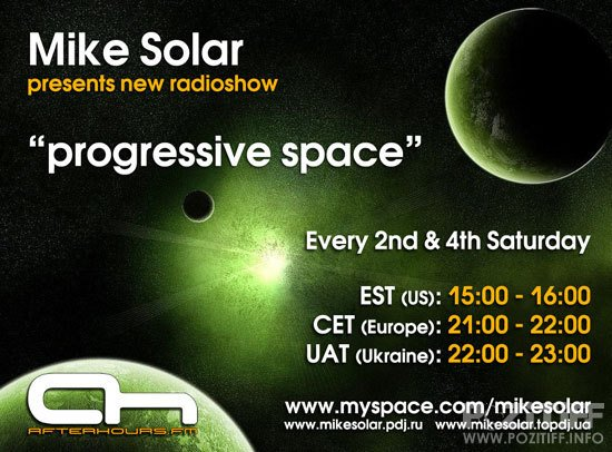 Mike Solar - Progressive Space 011 (10-10-2009)