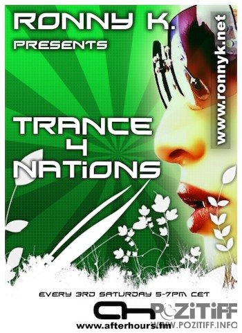 Ronny K. - Trance4nations 037 (Back In Time) (18-12-2010)