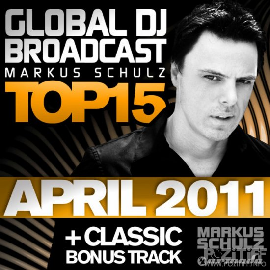 Global DJ Broadcast Top 15: April 2011