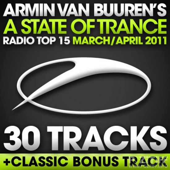A State Of Trance Radio Top 15 March/April 2011