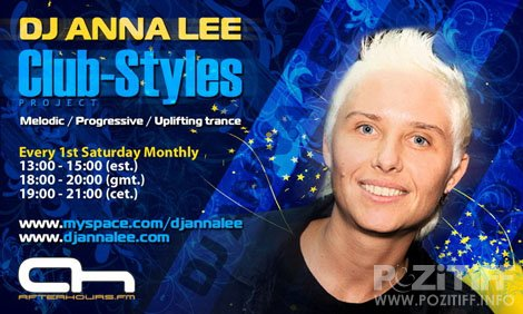 DJ Anna Lee - Club-Styles 055 (04-06-2011)