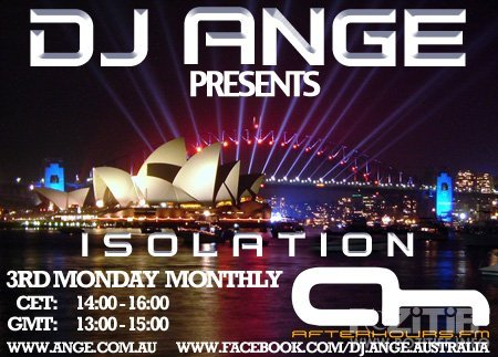 DJ Ange - Isolation 040 (18-07-2011)