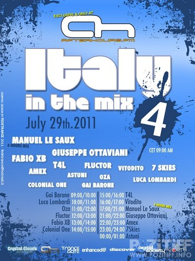 AH.FM presents - Italy In the Mix 004 29-07-2011