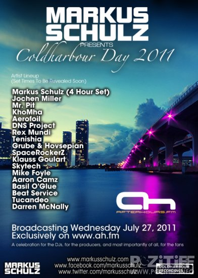 Markus Schulz presents Coldharbour Day 2011 (27-07-2011)