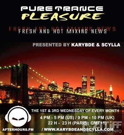 Karybde & Scylla - Pure Trance Pleasure 121 (17-08-2011)