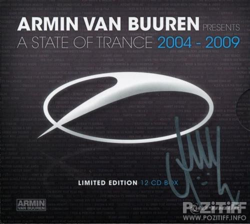 Armin van Buuren - A State Of Trance 2004-2009 (Limited Edition 12 CD Box) (2010)