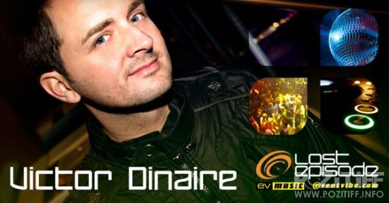 Victor Dinaire - Lost Episode 262 (Guestmix Ronski Speed) (15-08-2011)
