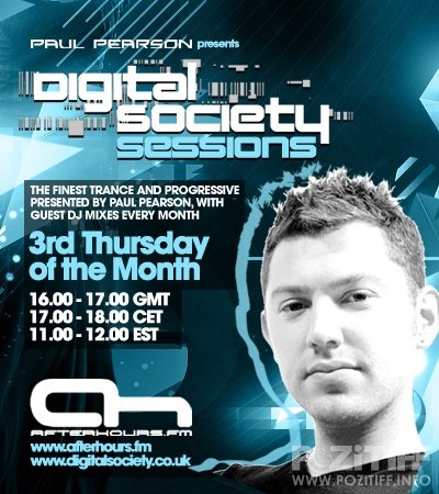 Paul Pearson - Digital Society Sessions 035 (20-10-2011)