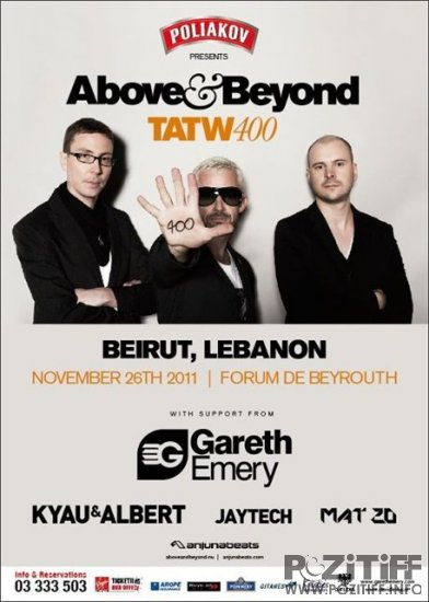 Above & Beyond - Trance Around The World 400 (26-11-2011)