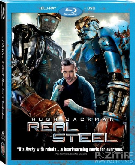 Живая сталь / Real Steel (2011/HDRip)