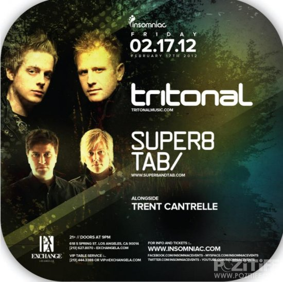 Tritonal - Air Up There 066 (Live At Exchange Los Angeles) (17-03-2012)