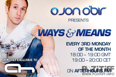 Jon OBir - Ways And Means Radio 026 (16-04-2012)