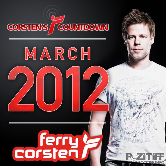 Ferry Corsten pres. Corsten's Countdown March 2012