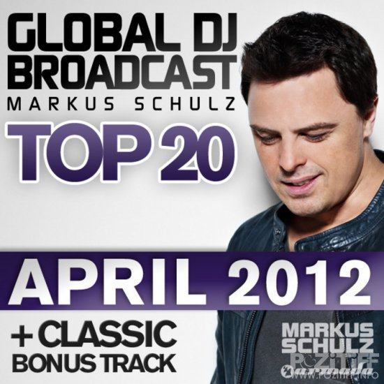 Global DJ Broadcast Top 20: April 2012