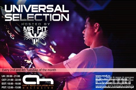 Mr Pit - Universal Selection 050 (22-05-2012)