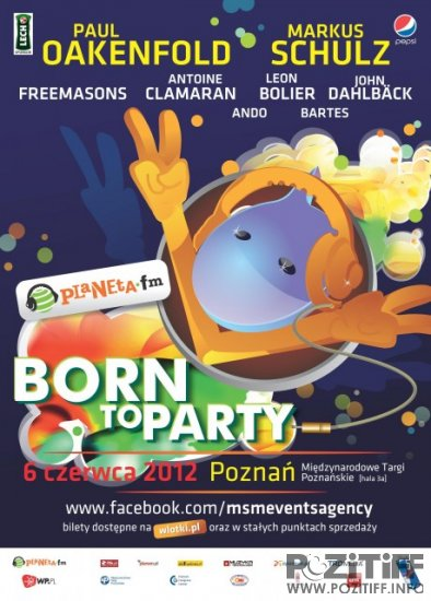 Planeta Born To Party (06-06-2012)
