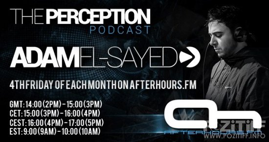 Adam El-Sayed - The Perception Podcast 012 (2015-02-27)
