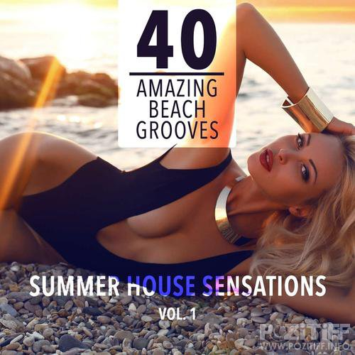 Summer House Sensations Vol 1 (40 Amazing Beach Grooves) (2015)