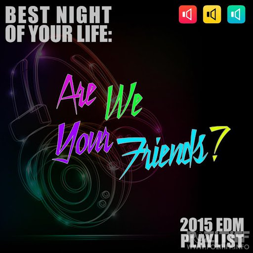 Are We Your Friends? Best Night of Your Life: 2015 EDM Playlist