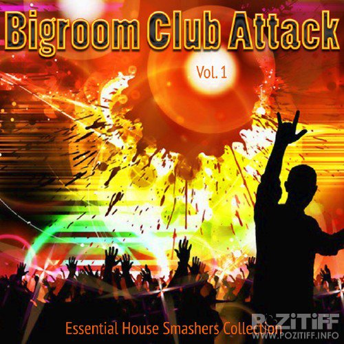 Bigroom Club Attack Vol 1 (Essential House Smashers Collection) (2015)