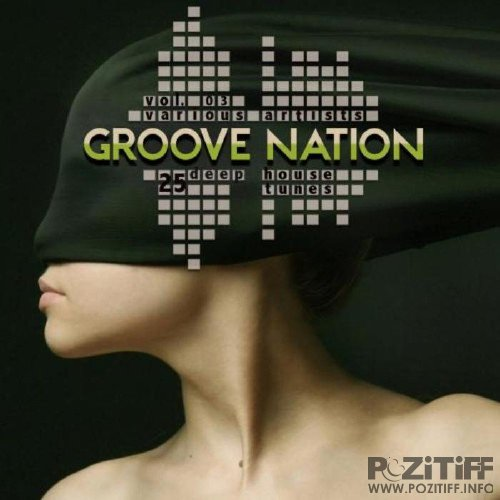 Groove Nation Vol 3 (25 Deep House Tunes) VIBE021 (2015)