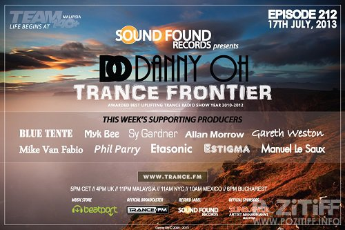 Danny Oh - Trance Frontier 334 (2015-11-18)