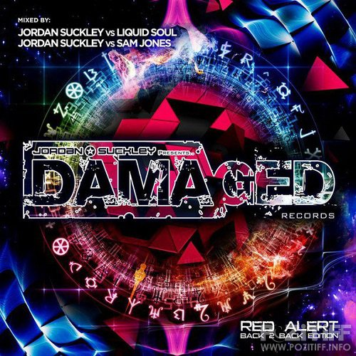 Jordan Suckley & Sam Jones & Liquid Soul - Damaged Red Alert (2015)