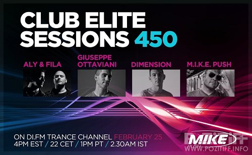 Club Elite Sessions Mixed By M.I.K.E. Episode 451 (2016-03-03)