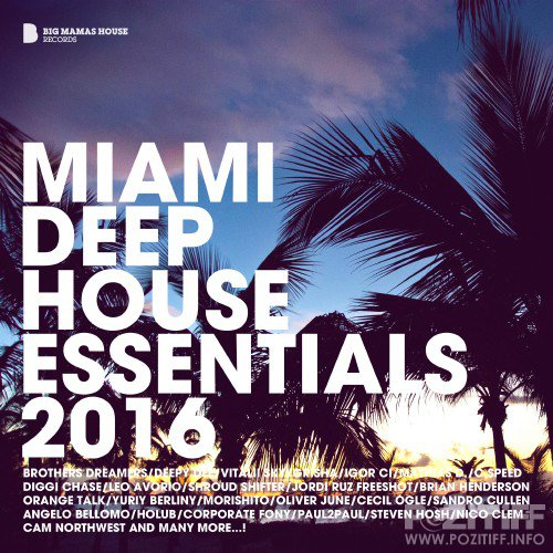 Miami Deep House Essentials 2016 (2016)