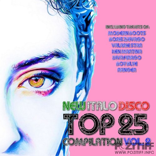 New Italo Disco Top 25 Compilation Vol 2 (2016)