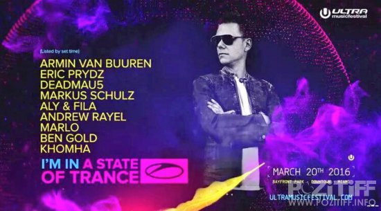 A State Of Trance Special Ultra Music Festival, Miami (20-03-2016)