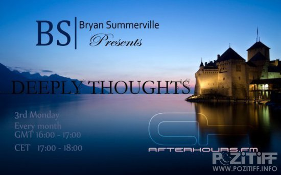 Bryan Summerville - Deeply Thoughts 088 (2016-06-20)