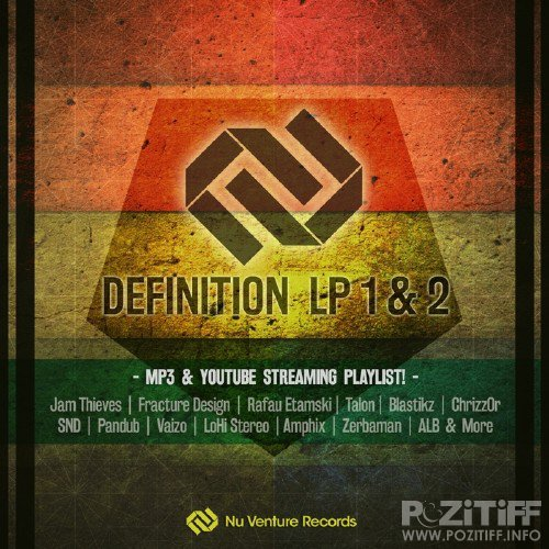 Definition LP 1 & 2 - MP3 & Streaming Playlist (2016)