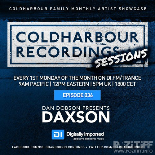 Daxson - Coldharbour Sessions 036 (2017-02-06)