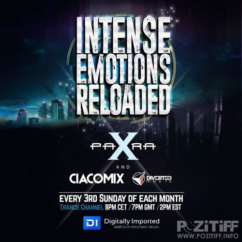 Para X & Ciacomix - Intense Emotions Reloaded 007 (2017-02-19)