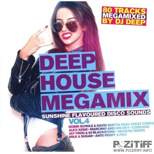 Deep House Megamix Vol.4  (2017)
