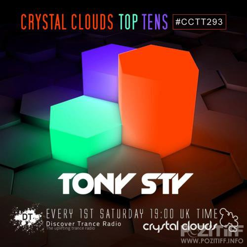 Tony Sty - Crystal Clouds Top Tens 293 (2017-10-07)