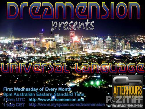 DreamensioN - Universal Language 098 (2017-11-03)