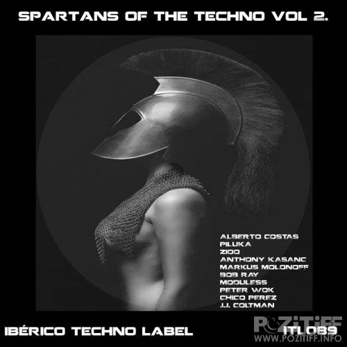Spartans Of The Techno Vol.2 (2018)
