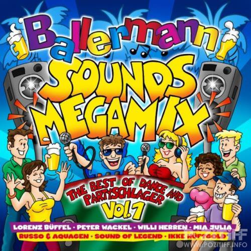 Ballermann Sounds Megamix (The Best of Dance & Partyschlager) Vol.1 (2018) FLAC