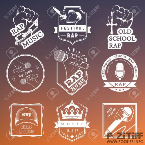 Rap Music Collection Pack 015 (2018)