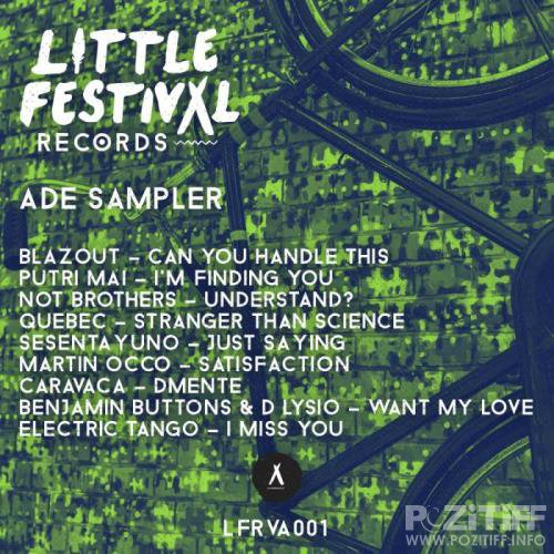 Little Festival Records ADE Sampler (2018)
