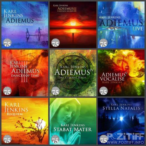 Karl Jenkins, Adiemus - Karl Jenkins 75 Collection (11 Albums) (2018) FLAC