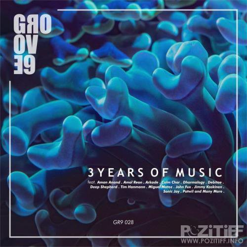Groove 9 - 3 Years of Music (2019)