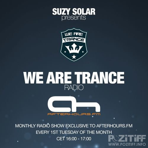 Suzy Solar - We Are Trance Radio 025 (2019-10-01)