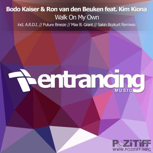 Bodo Kaiser & Ron Van Den Beuken feat. Kim Kiona - Walk On My Own (2019)