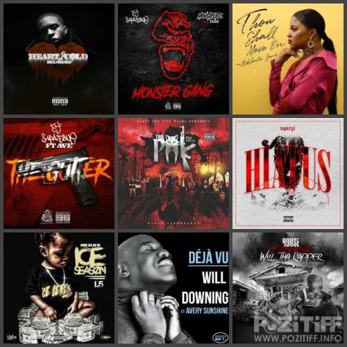 Rap Music Collection Pack 132 (2019)
