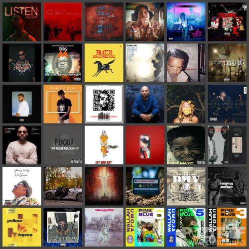 Rap Music Collection Pack 145 (2019)