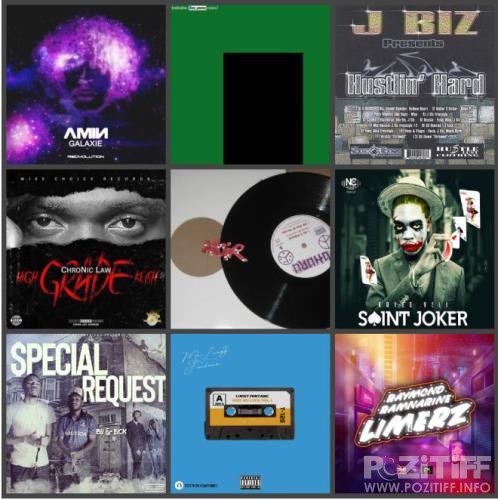 Electronic, Rap, Indie, R&B & Dance Music Collection Pack (2019-12-24)