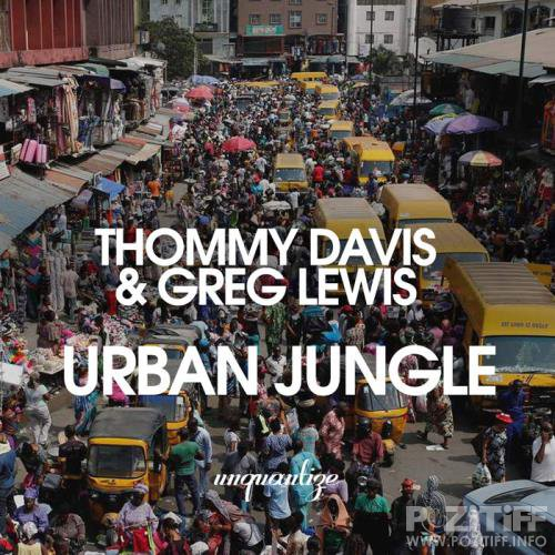Thommy Davis & Greg Lewis - Urban Jungle (2019)